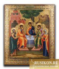 Старинная икона Святая Живоначальная Троица