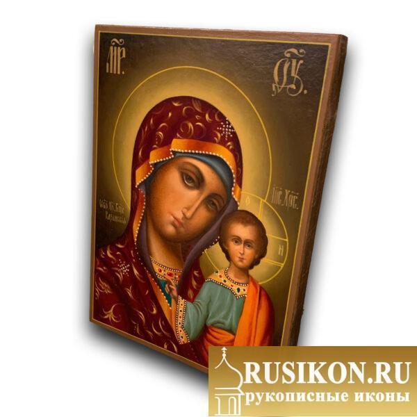 Казанская икона Богородицы, масло